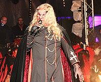 Jan Abraham als Teufel bei der Wolfshäger Hexenbrut